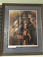 "Michael Gentry artist proof, signed, ""The Collecto"