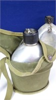 Vintage Camping Canteens & Carrying Cases (8)