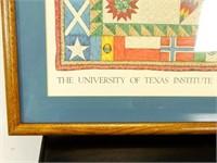 """""""Texas Folklife Festival 1983"""" Framed Print"""