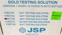 18K Gold Testing Solution Bottles
