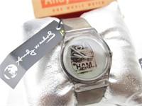 """Andy Warhol """"Ham"""" Fashion Wrist Watch (NRFB)"""