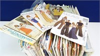 LARGE Collection of Vintage Sewing Patterns