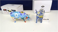 Cow Parade Artistic Cow Statuettes