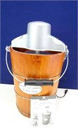 Member's Mark Wood Barrel Ice Cream Maker