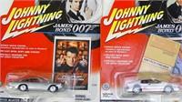 Vintage James Bond Cast Cars & Model Trailer