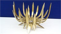 Gold Colored Art Deco Sculpture / Stand