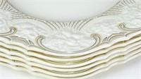 """Crown Ducal """"Berkley"""" Ceramic Plates Set (6)"""