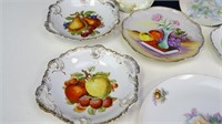 Assorted Porcelain / China Collectible Plates
