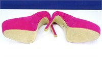 """Delicacy """"Sabrina"""" Hot Pink High Heel Shoes"""