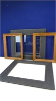 Open Wooden Wall Frames Bundle (4)