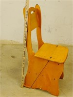 Small Wooden Chair / Ladder Utility Item