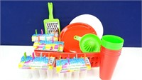 Plastic Kitchenware & Accessories BIG Bundle (50+)