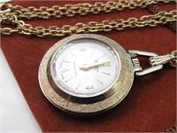 Ladies' Webster Anti-Magnetic Swiss Pocket Watch
