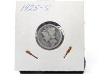 1925-S Mercury Dime