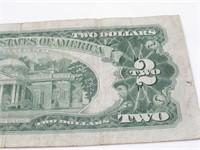 1963 Red Seal $2 Bill