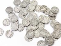 Buffalo Nickels (50)