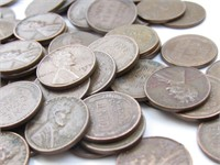 Wheat Pennies Bundle: 1940-1958 (100)