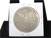 1878 Morgan Silver Dollar, Ungraded