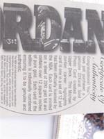 "1985 Upper Deck 22KT Michael Jordan ""RotY"" Card"