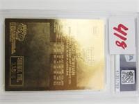 1997 Fleer 23KT Michael Jordan Card