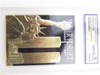 """23KT """"Never Forget-WTC-9/11"""" Card"""