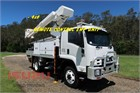 2008 Isuzu FSS 550 4x4 Cherry Picker