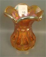 Imperial Dk Marigold Thumb Print & Ovals Vase