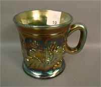 N'Wood Olive Green Dandelion Mug
