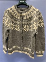 Hand woven wool sweater by Dale of Norway, men's s
