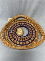 Panoche Trail basket,  made from Georgia longleaf