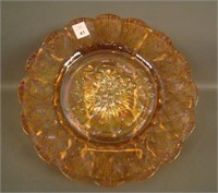 Amber Imperial Grape Chop Plate.