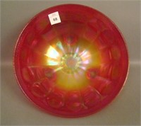 Imperial Red Stretch Floral & Optic Ftd Bowl
