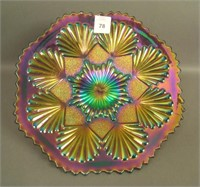 IMPERIAL ELEC.PURPLE SHELL & SAND PLATE