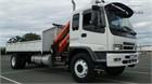 2007 Isuzu FVD950 Crane Truck