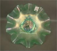 Dugan Ice Green Pony Ruffled Bowl