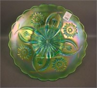 Brockwitz Ice Green Four Flowers Variant Plate