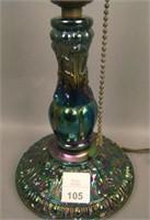 U.S. Glass Purple Princess Lamp