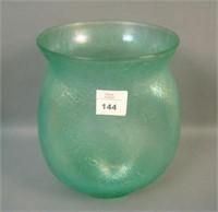Dugan Ice Green Venetian LinePinched Vase