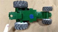 Green Tonka 4773 plastic tractor with cab