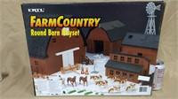 Ertl Farm Country Round Barn Playset. #12109 box