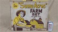 Lido Sunny Acres Farm Set in box