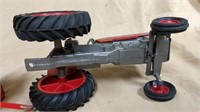Massey Tractor, Ertl Trailer, Tractor