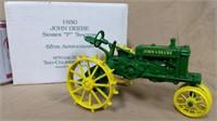 Ertl 1930 John Deere P Tractor 65 Anniv w/box
