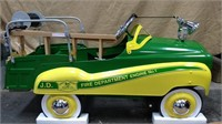 JD Fire Truck Pedal Car by Gearbox