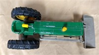 Hubley tractor with loader. Hubley Kiddie Toy#500