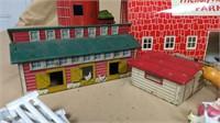 Multiple Barns & Animals Set