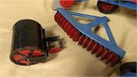 Marx Tractor & Equipment Set