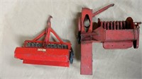 Tru-Scale Seeder, Tractor, & Baler