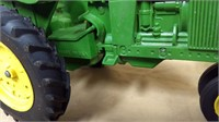 John Deere Tractor & 4 Bottom 3 Pt. Plow