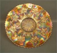 Fenton Marigold Little Flowers Chop Plate